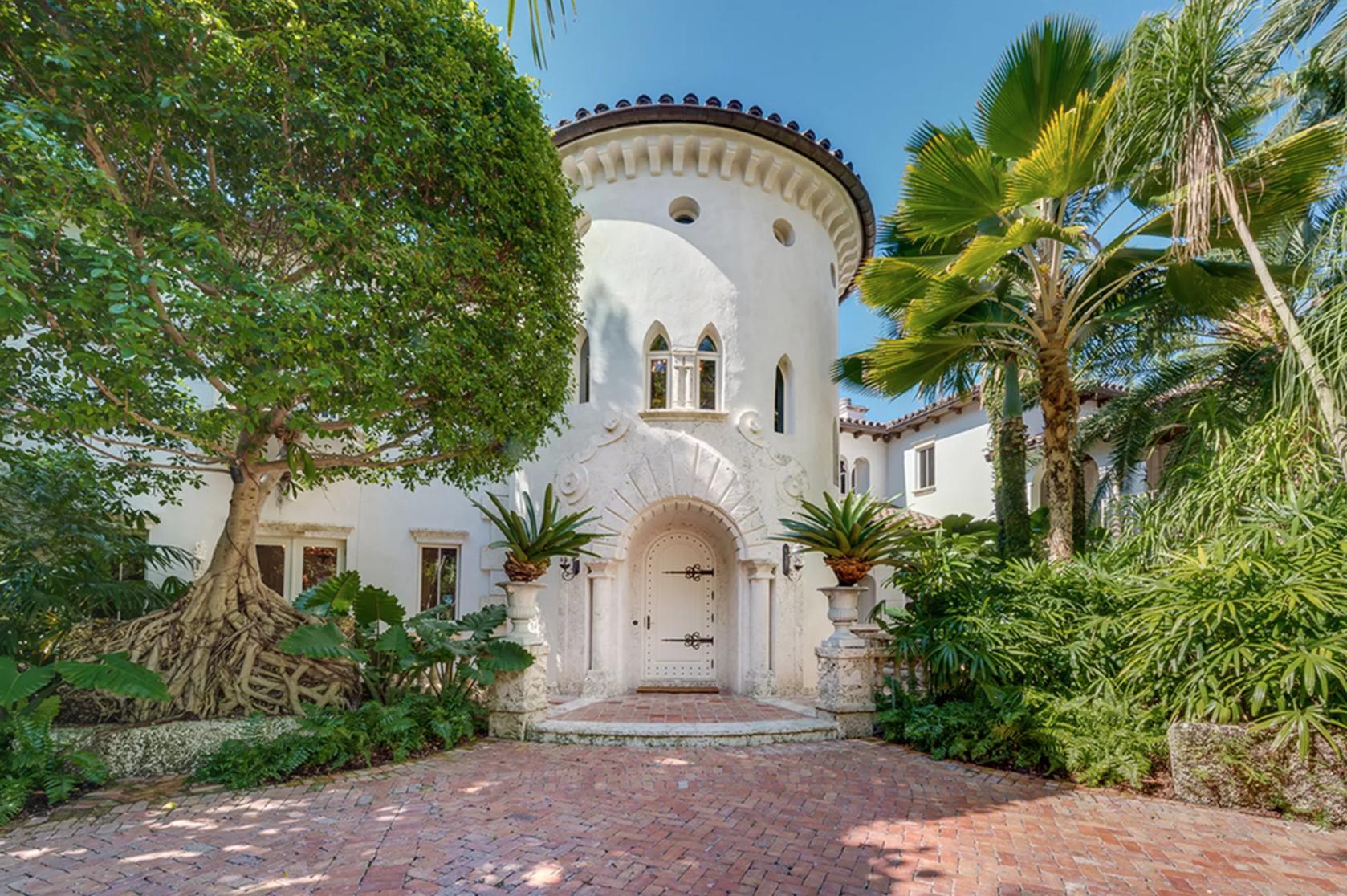 L'ancienne maison de Lenny Kravitz à Miami Beach vendu à $16,5 M