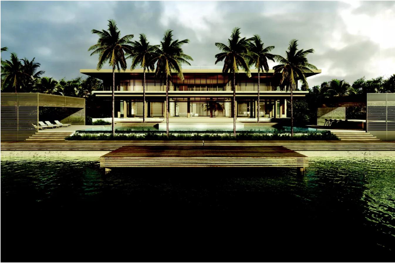 Un manoir de Miami Beach construit pour un modèle Victoria's Secret est à vendre