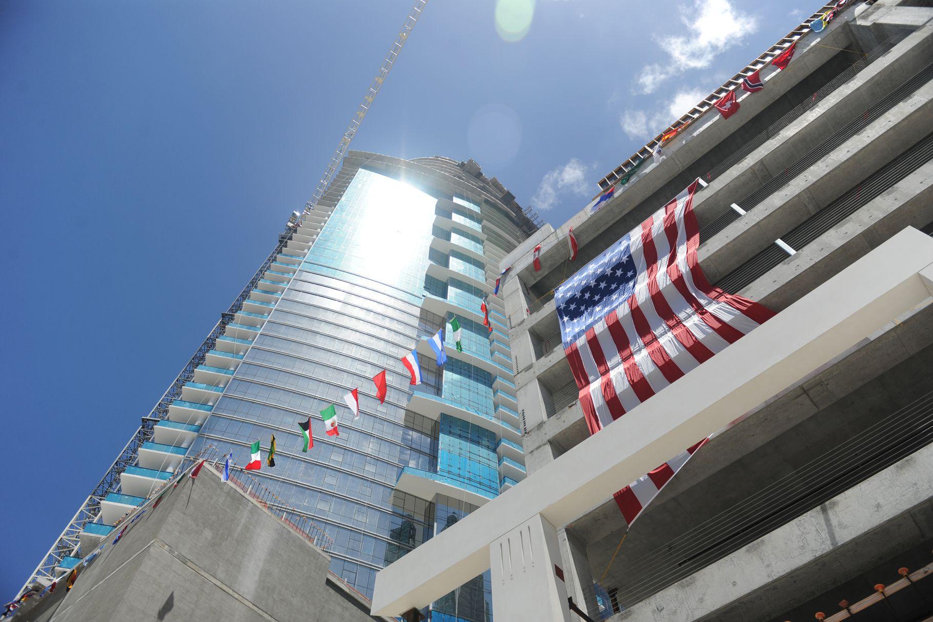 L'immense projet Worldcenter au centre ville de Miami